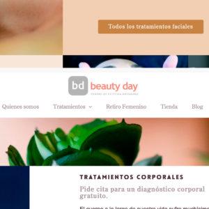 nueva web centro beauty day