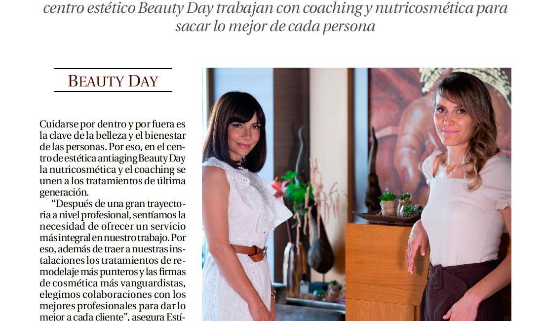 publicaciones en medios Centro Beauty Day
